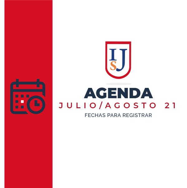 Agenda: Julio – Agosto